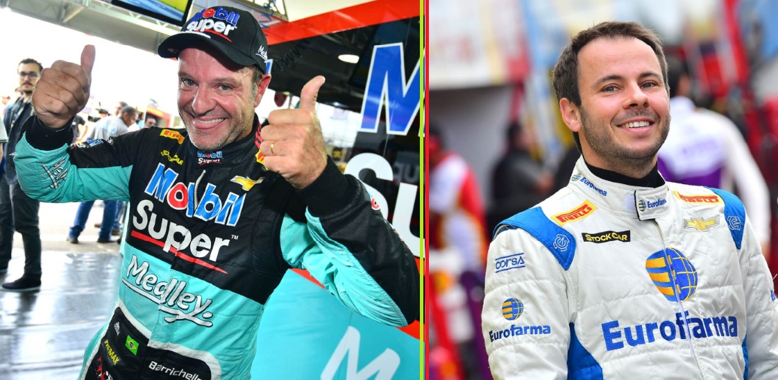 Photo of Rubens Barrichello e Ricardo Maurício vencem a terceira etapa da Stock Car 2017 em Santa Cruz do Sul (RS)