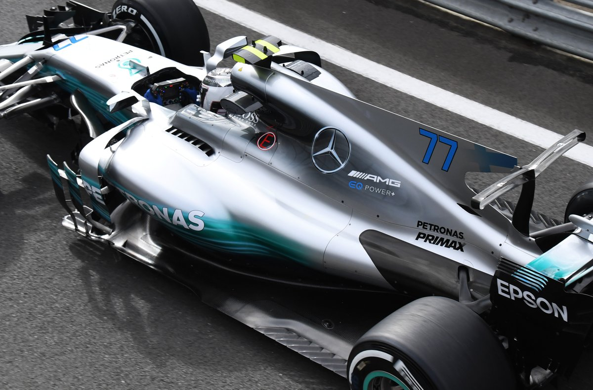 Photo of FP1 Inglaterra – Bottas lidera, domínio da Mercedes e boa evolução da McLaren