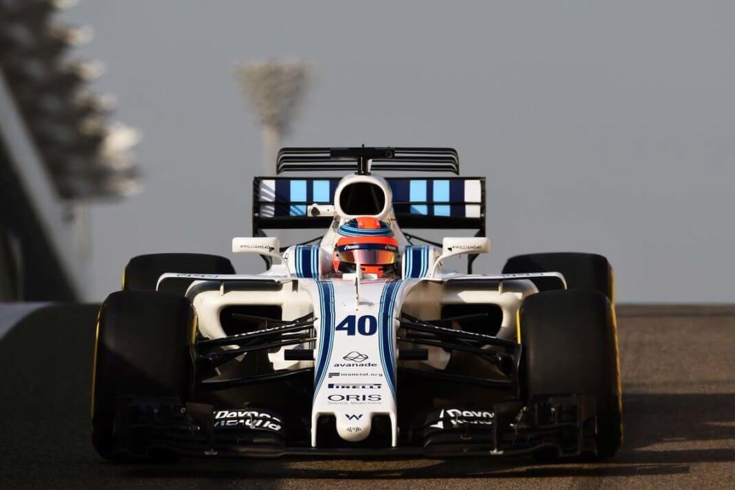 Foto de Testes Abu Dhabi – Kubica completa 100 voltas e Pirelli segue testando os novos pneus