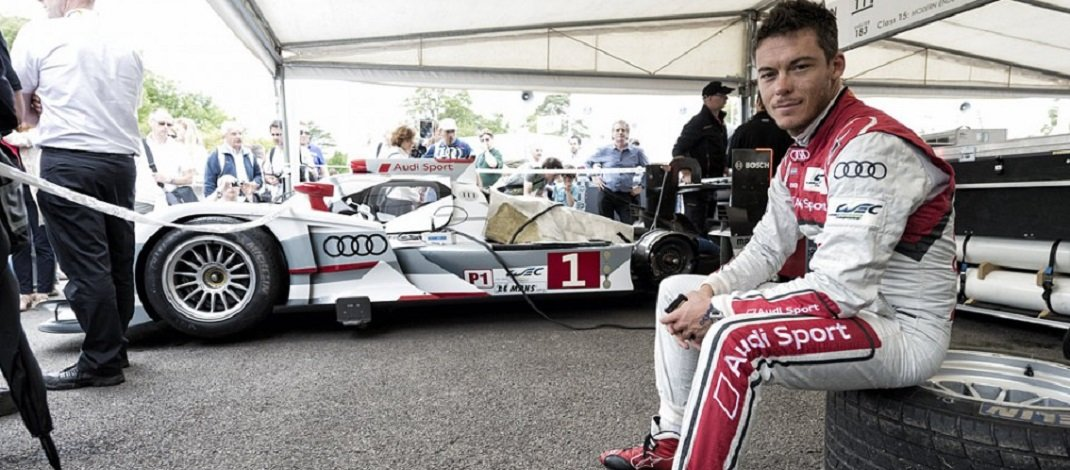 Photo of Andre Lotterer o tricampeão de Le Mans
