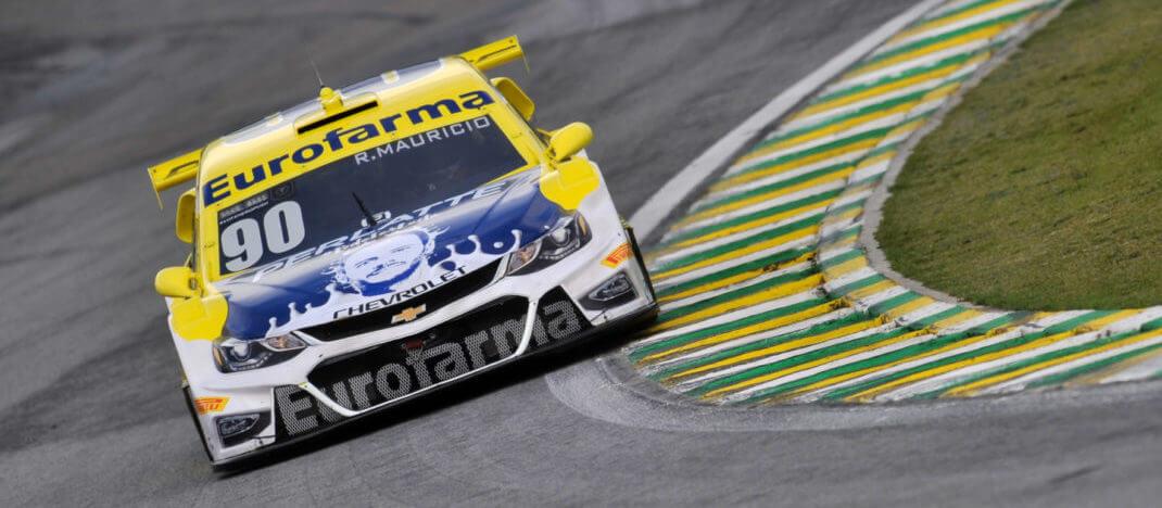 Foto de Interlagos – Ricardo Maurício consegue a Pole, seguido pelo companheiro de equipe Daniel Serra