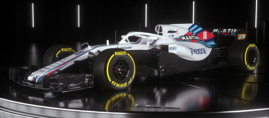 Williams FW41 Fonte: Williams