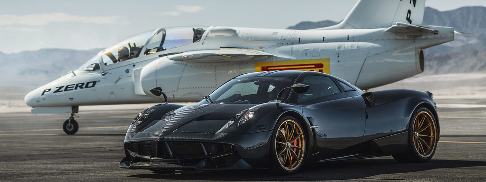 Photo of Spaghetti western: Pagani Huayra Vs. Siai-Marchetti S-211