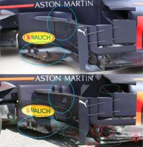 f1--red-bull-racing-rb-front-wing-old-version para o GP de Mônaco