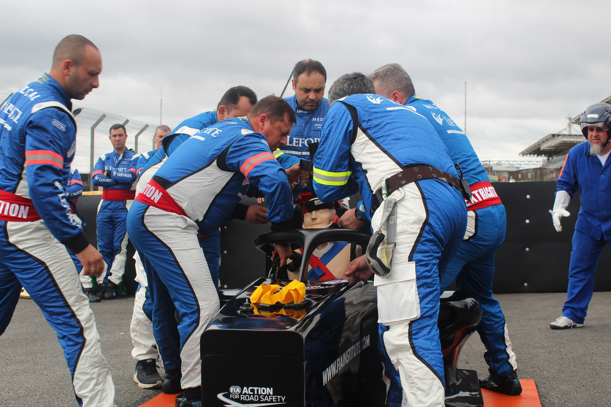 Photo of Equipe médica do GP Brasil de F1, realiza simulação de resgate