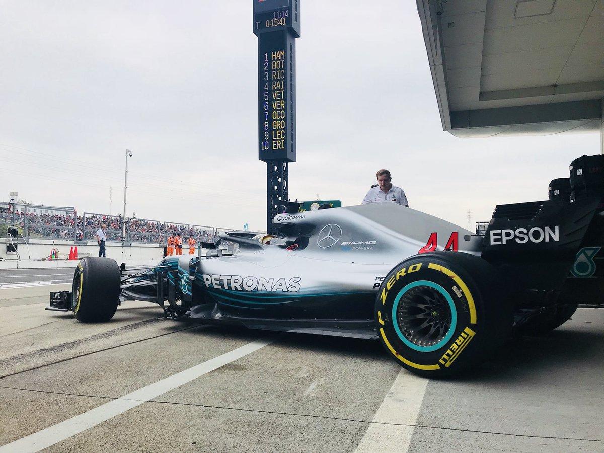Photo of TL1 Japão – Hamilton sobra, para liderar dobradinha da Mercedes em Suzuka