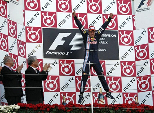 Foto de Vitória fácil de Vettel no ano da Brawn