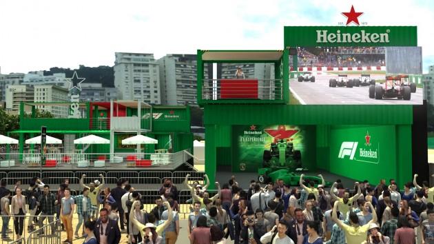Photo of Heineken monta um time com Rubens Barrichello, Felipe Massa e Williams Racing para levar a emoção da Fórmula 1 para fora de Interlagos