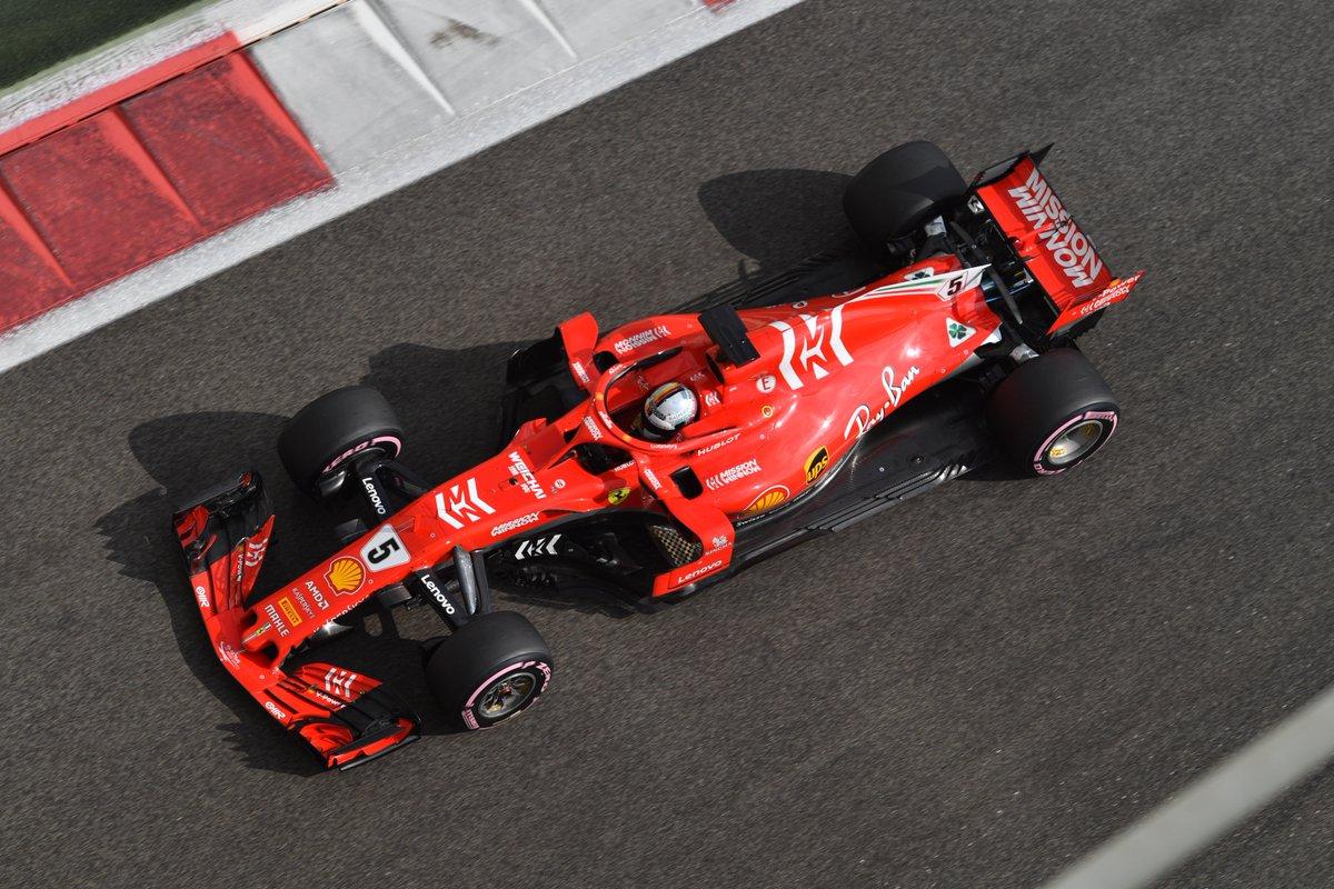 Photo of Teste Abu Dhabi – Vettel, líder da sessão, não vê diferença nos compostos