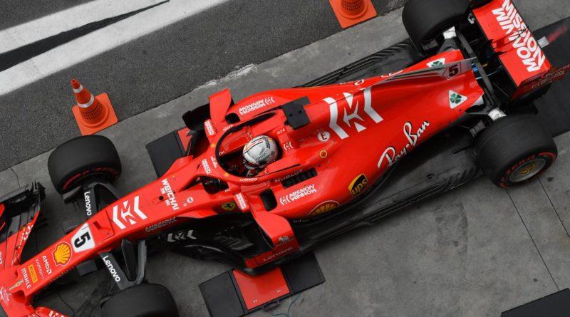 Sebastian Vettel recebe multa, por ter causado incidente no Q2 com balança da FIA