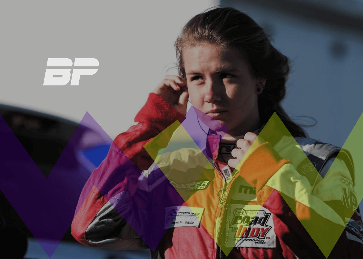 Foto de Lista da W Series, com pilota brasileira Bruna Tomaselli, finalista da primeira fase