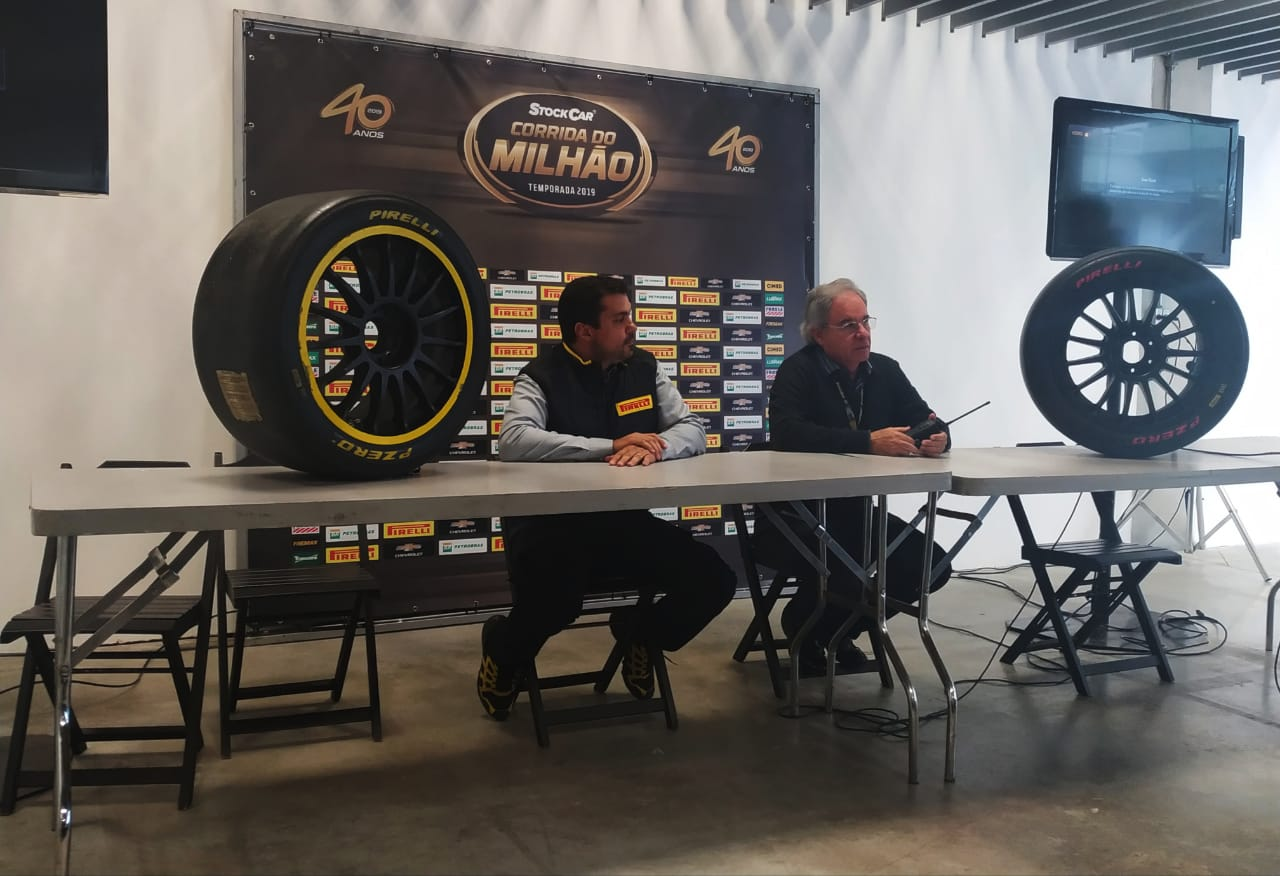 Photo of Pirelli testa novo composto que será usado na temporada 2020 durante a Corrida do Milhão