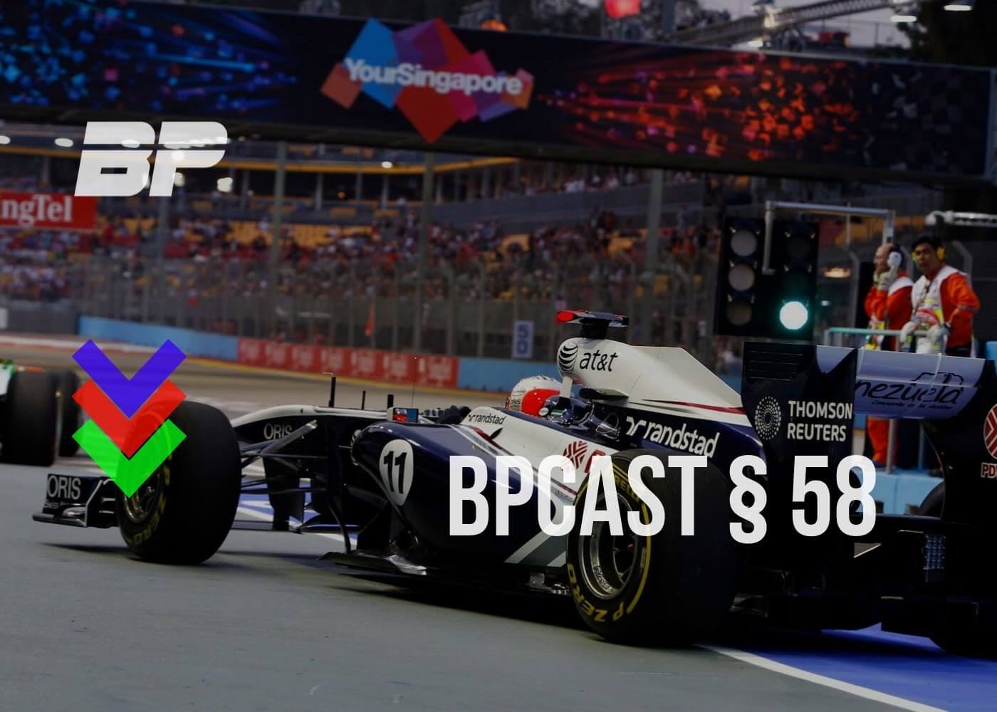 Foto de BPCast § 58 | Preview do GP de Cingapura de Fórmula 1 – Os embalos de domingo à noite!