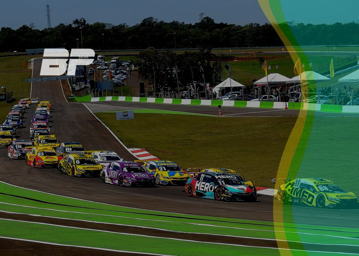 Foto de Preview nona etapa da Stock Car em Cascavel🐍