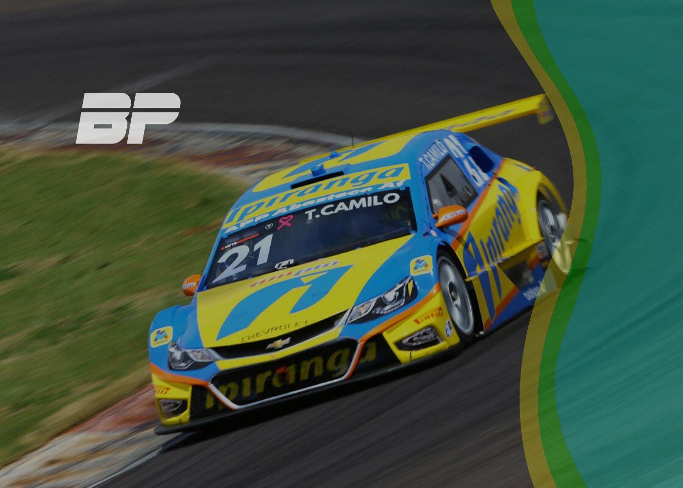 Foto de TL2 Cascavel🐍 – A chuva atrapalhou a sessão mas Thiago Camilo levou o carro para a primeira posição