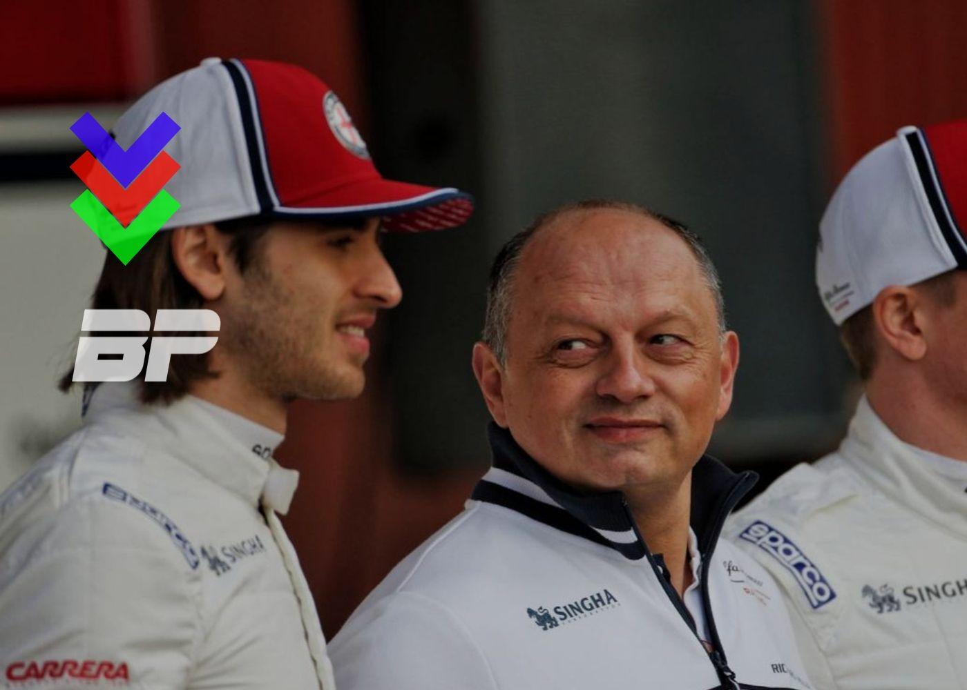 Foto de Chefe de equipe da Alfa Romeo, deve confirmar destino de Giovionazzi 'em breve'