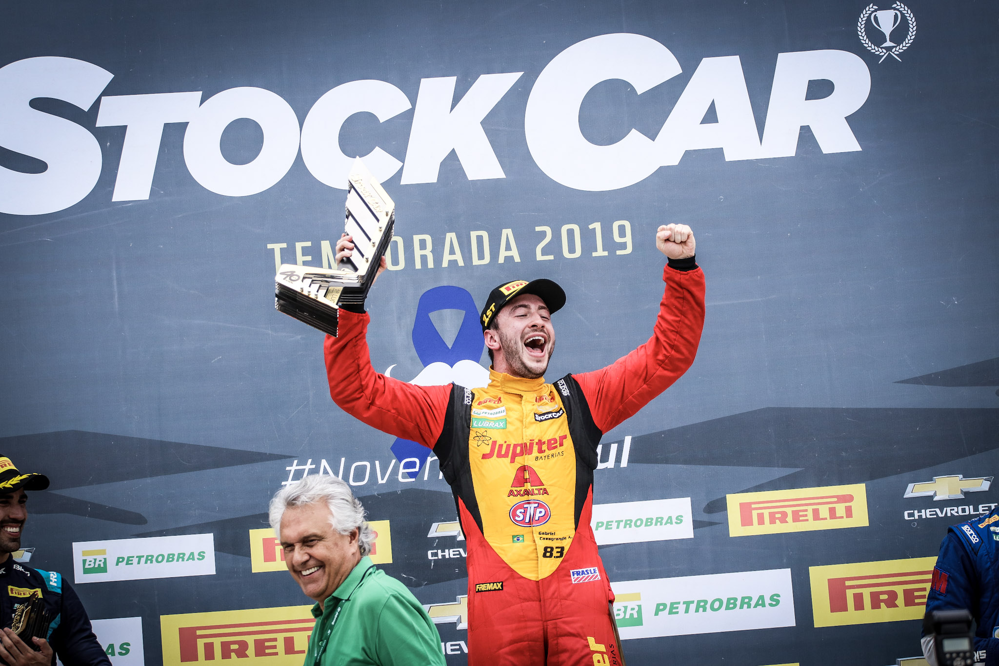 Foto de Galeria de Fotos: Stock Car imagens do Grande Prêmio Tuka Rocha em Goiânia por Roberto Correa