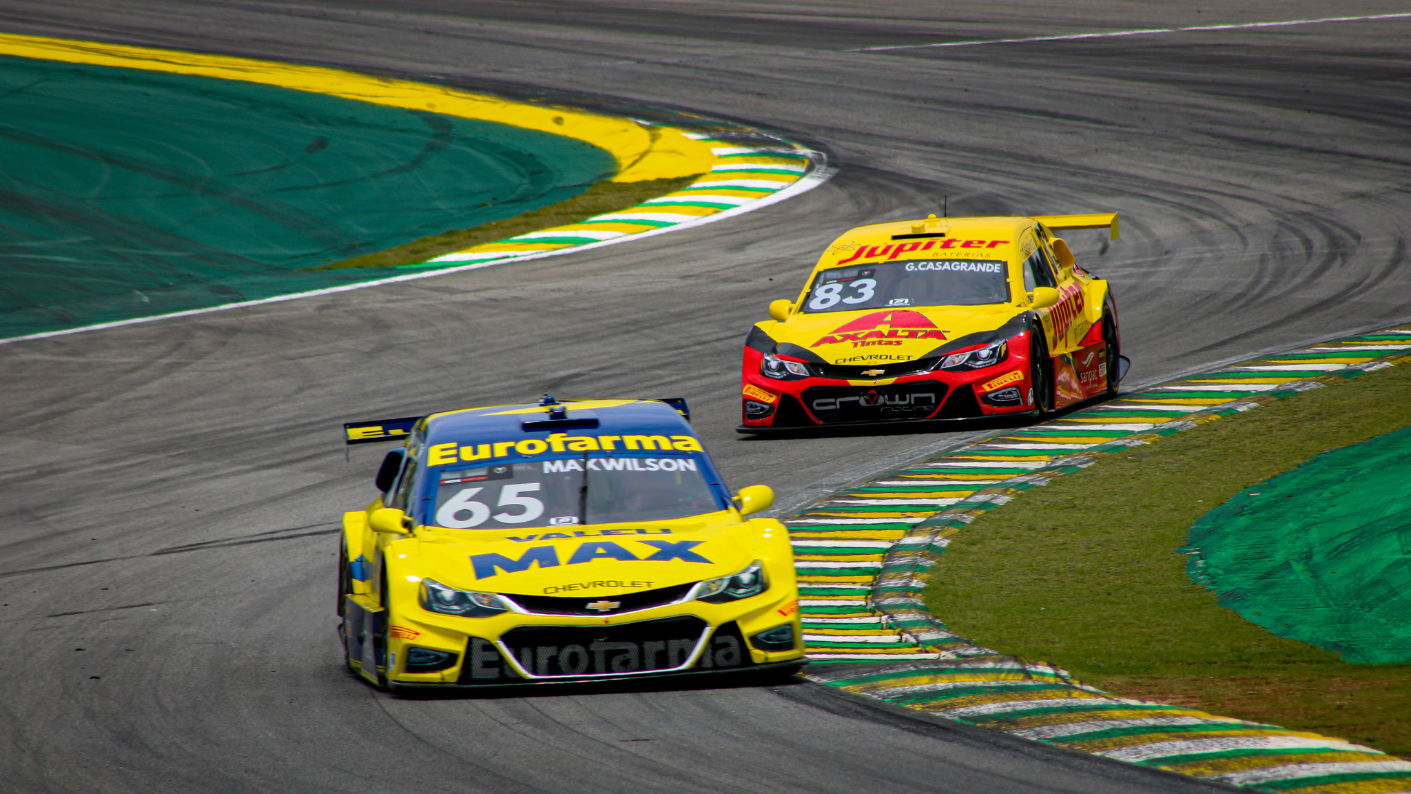 Foto de Galeria do treino classificatória para Grande Final da Stock Car em Interlagos, por Deborah Almeida