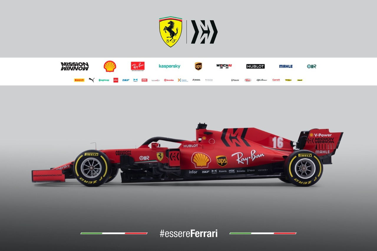 Photo of Ferrari divulga o SF1000, carro para temporada 2020 da Fórmula 1