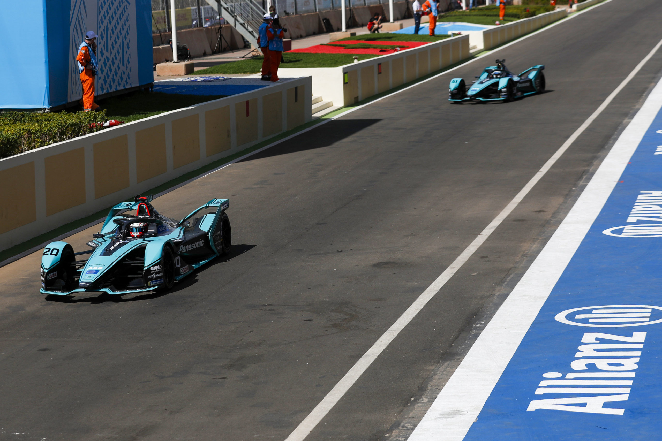 Photo of Marrakesh ePrix – TL2: Mitch Evans lidera, seguido de perto por Lucas di Grassi