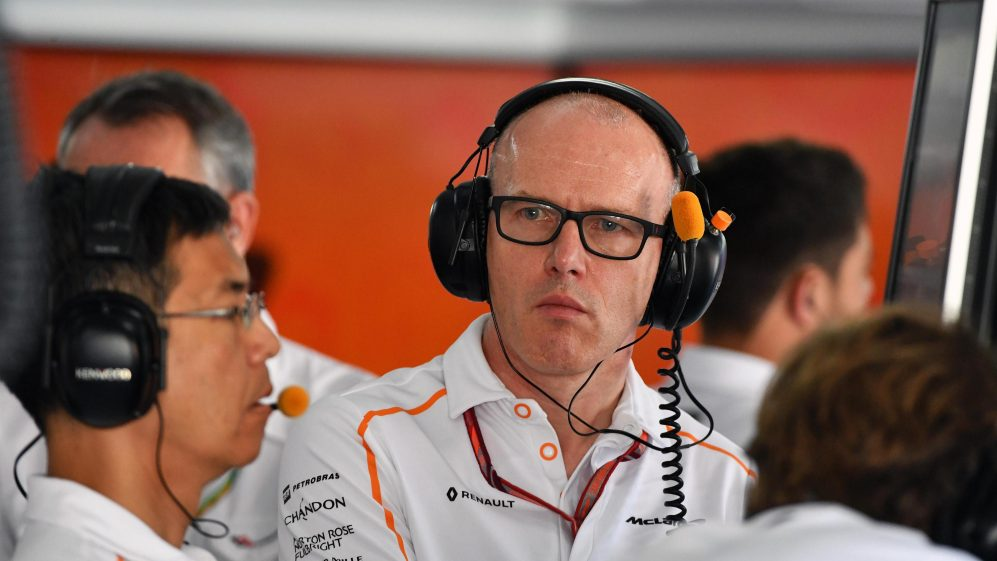 Foto de Simon Roberts, ex-diretor da McLaren passa a integrar o time da Williams
