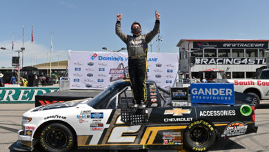 Foto de Truck Series: Sheldon Creed ganha a terceira na marra em Gateway