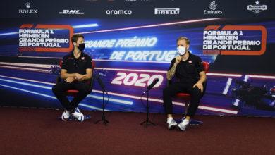 Foto de Grosjean falou sobre a surpresa da substituição dos dois pilotos da Haas