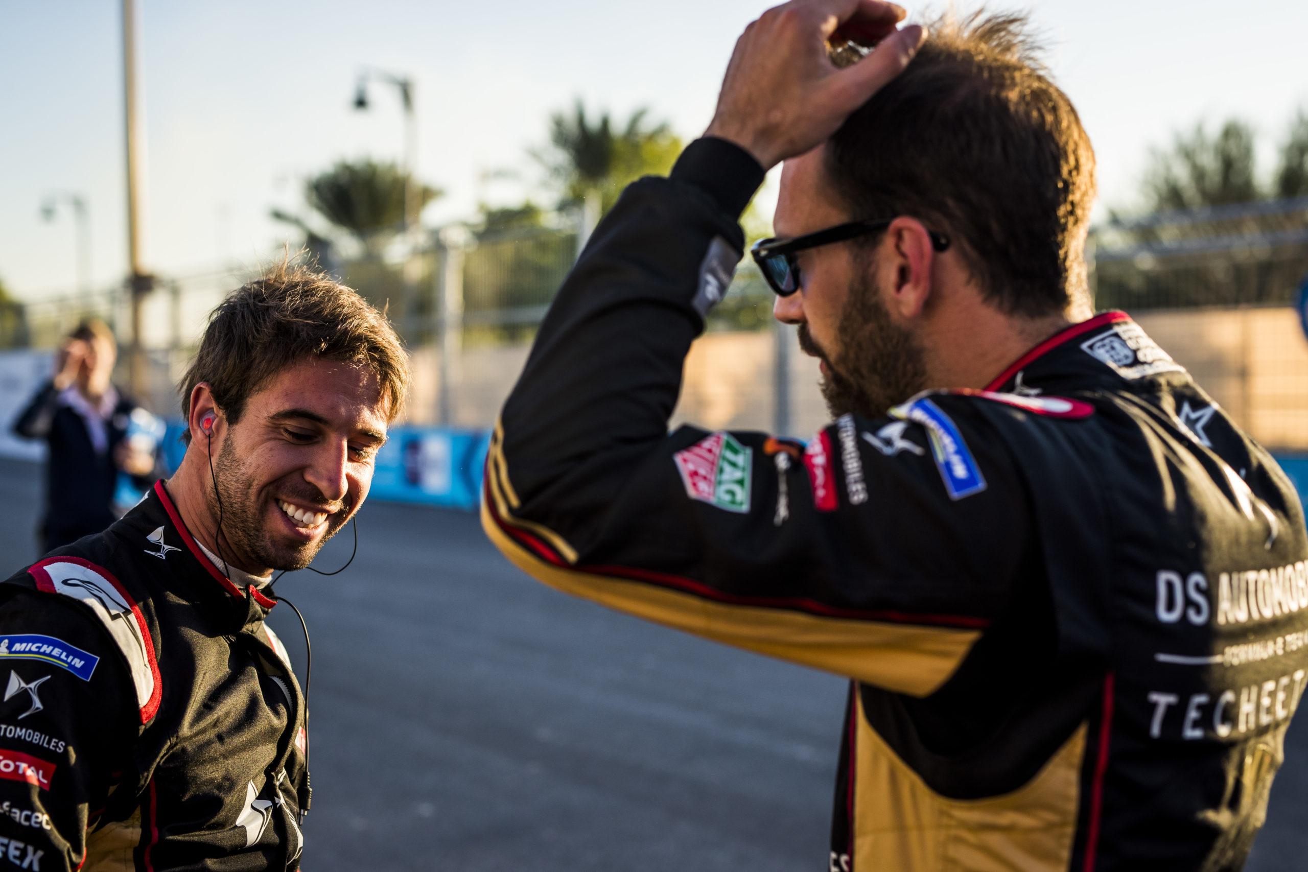 Antonio Felix da Costa e Jean-Eric Vergne - Foto: Formula E
