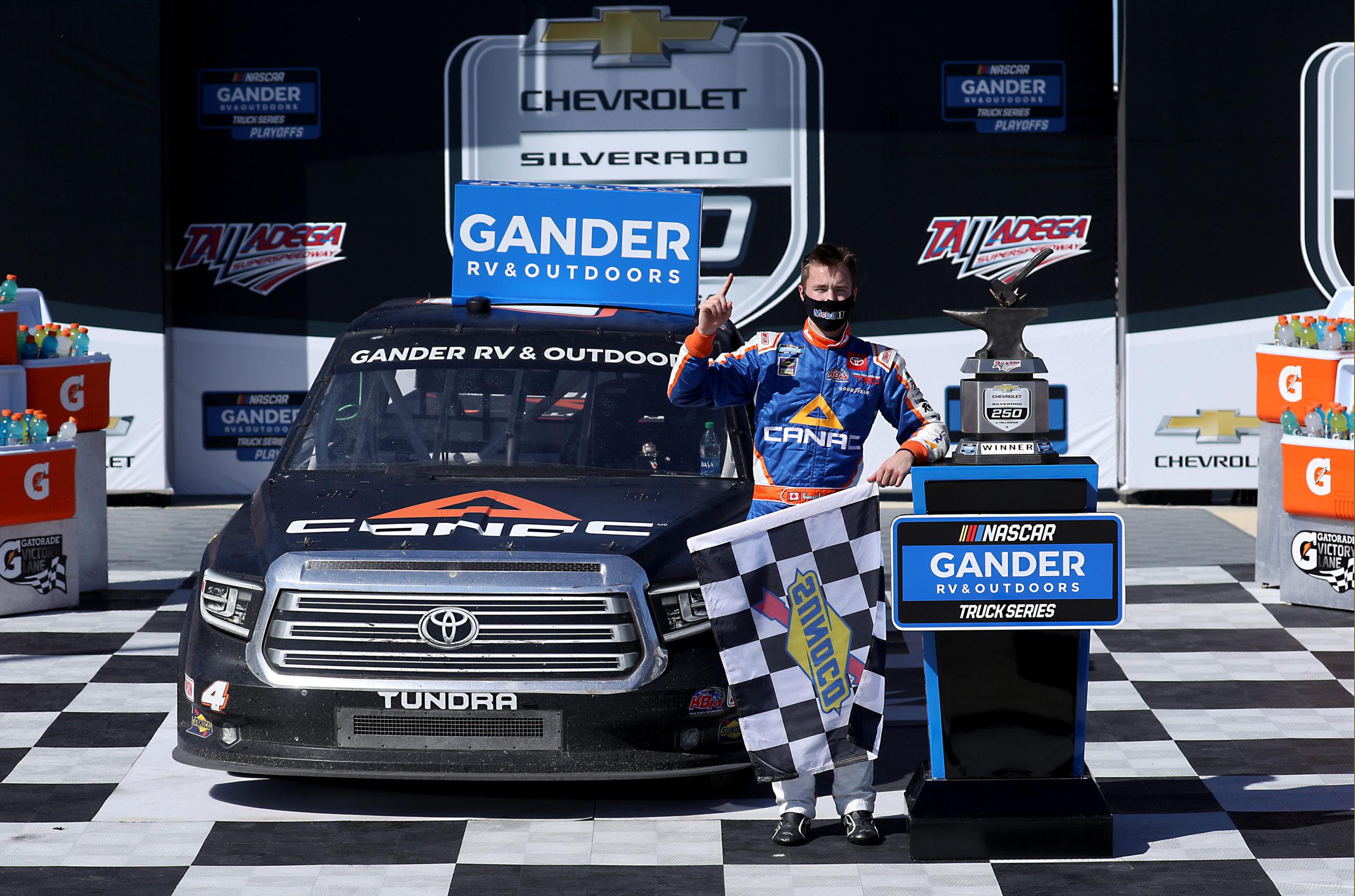 Foto de Truck Series: Lessard lidera no momento certo em Talladega. Gilliand e Eckes deixam playoffs