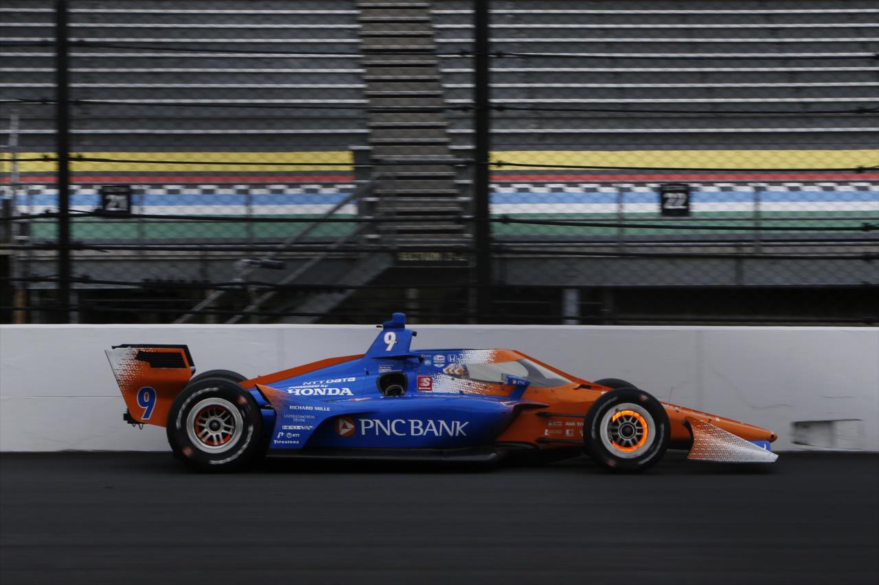 Scott Dixon teve um dia difícil em Indianápolis (Chris Jones/IndyCar)