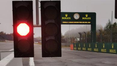 Foto de TL1 em Nürburgring é cancelado por conta das condições climáticas
