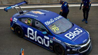 Foto de Diego Nunes confirma vitória na segunda corrida da Stock Car, com Rossi em segundo
