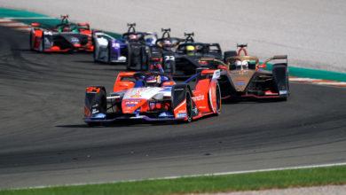 Foto de Fórmula E revela detalhes dos testes da pré-temporada 2020/21