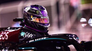 Foto de Hamilton vence, Albon vai ao pódio após abandono de Pérez e corrida é marcada pelo acidente de Grosjean