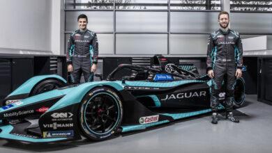 Foto de O I-TYPE 5 da Jaguar está pronto para Mitch Evans e Sam Bird