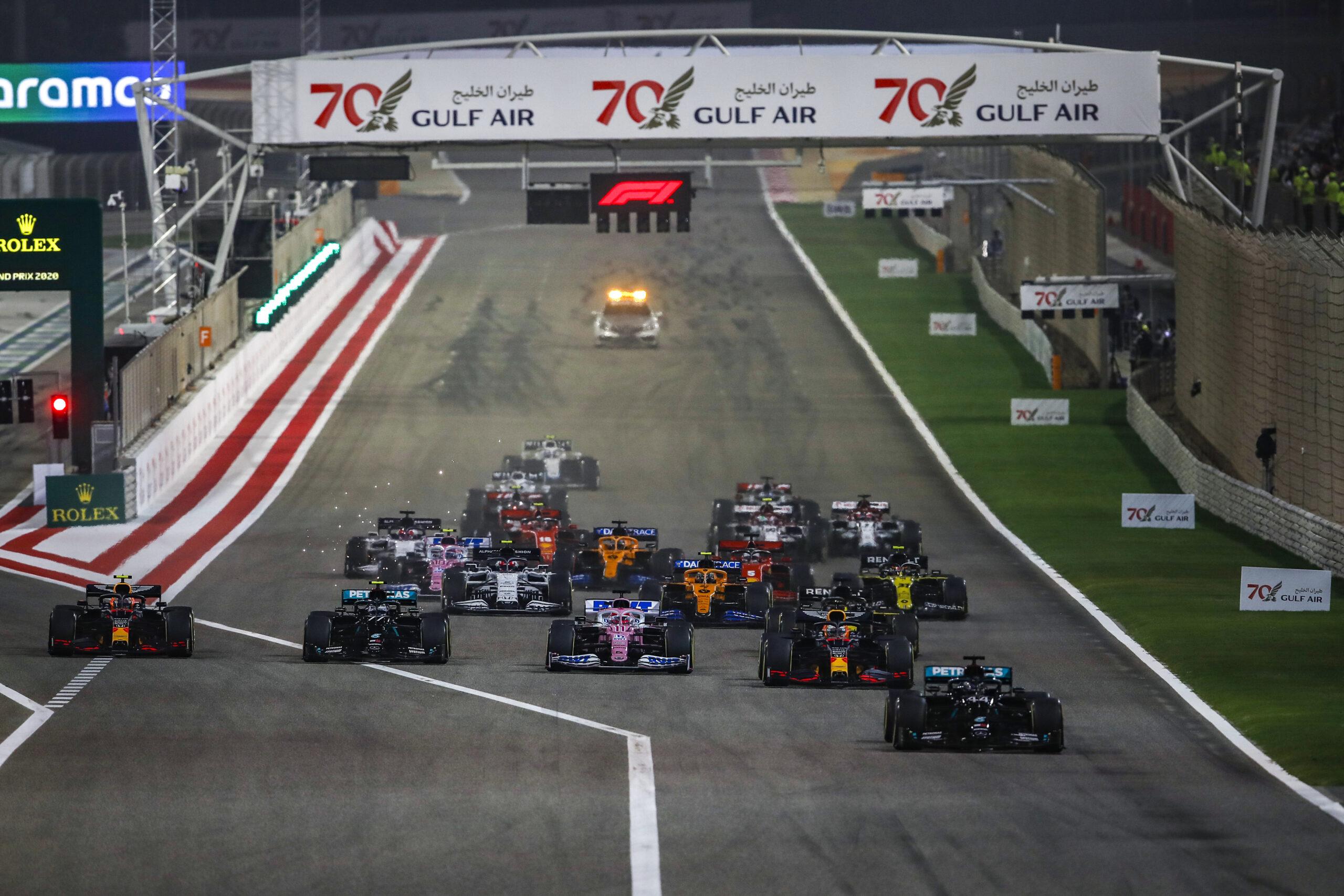 Foto de Raio-X do GP do Bahrein