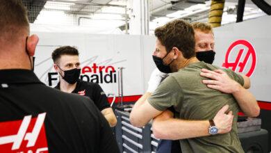 Foto de Romain Grosjean não participará do GP de Abu Dhabi