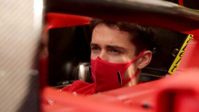 Foto de Após incidente na largada, Leclerc é punido e perde três posições no grid do GP de Abu Dhabi