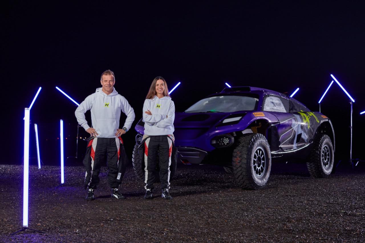 Extreme E: X44, equipe de Lewis Hamilton, anuncia Sebastien Loeb e Cristina Gutierrez como dupla de pilotos