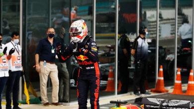 Foto de Raio-X do GP de Abu Dhabi