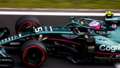 Foto de Vettel revela troca de motor para o GP dos Estados Unidos