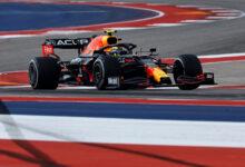 Foto de Pérez se beneficia de tempos deletados para manter a ponta no TL3. Sainz é o 2º no COTA