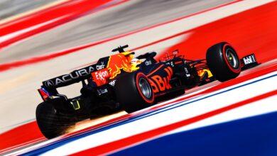Foto de Red Bull confirma bom desempenho com Verstappen que conquista a pole após superar Hamilton